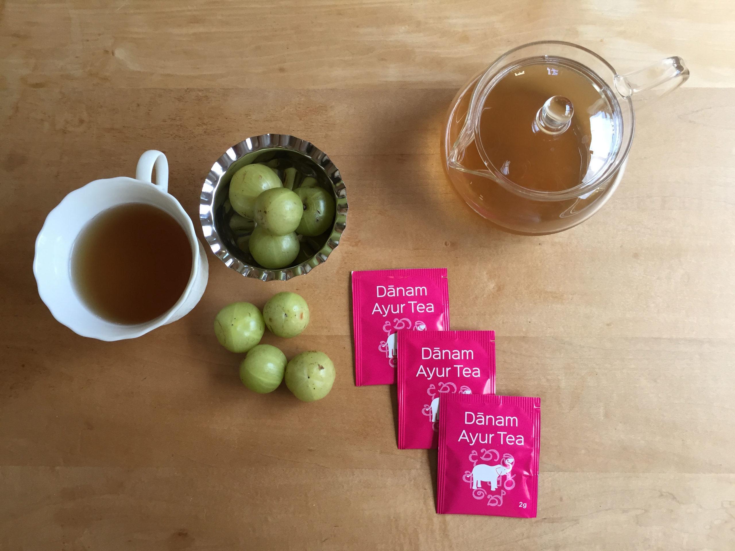 アムラ(美容・抗酸化作用)×グドゥチ(ストレス軽減)【飲むアーユルヴェーダ!】